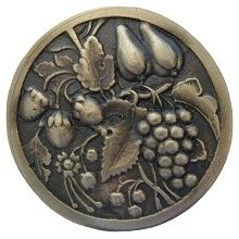 Notting Hill NHK-174-AB, Tuscan Bounty Knob in Antique Brass, Tuscan