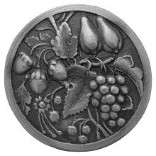 Notting Hill NHK-174-AP, Tuscan Bounty Knob in Antique Pewter, Tuscan