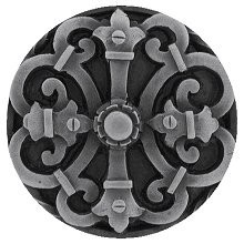 Notting Hill NHK-176-AP, Chateau Knob in Antique Pewter, Olde World