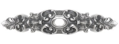 Notting Hill NHP-611-AP, Queensway Pull in Antique Pewter, King's Road
