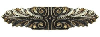Notting Hill NHP-625-BB, Opulent Scroll Pull in Brite Brass, Classic