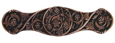 Notting Hill NHP-629-AC, Grapevines Pull in Antique Copper, Tuscan