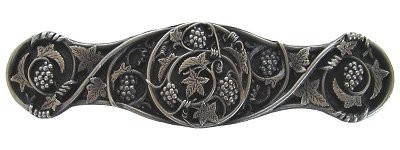 Notting Hill NHP-629-AP, Grapevines Pull in Antique Pewter, Tuscan