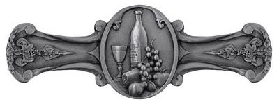 Notting Hill NHP-640-AP, Best Cellar Pull in Antique Pewter, Tuscan