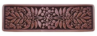 Notting Hill NHP-679-AC, Mountain Ash Pull in Antique Copper, English Garden