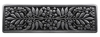 Notting Hill NHP-679-BP, Mountain Ash Pull in Brilliant Pewter, English Garden