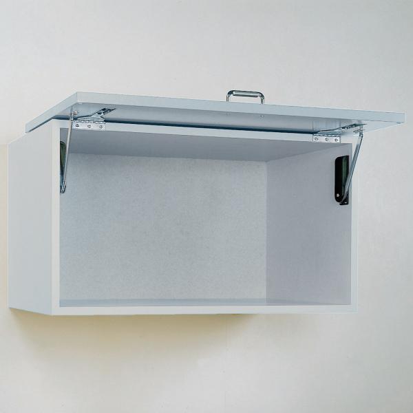 Sugatsune OVN-5/BLK, Soft Close Door Mechanism for Over-The-Top Flipper Doors, 11-15.4 lbs, Nickel/Black