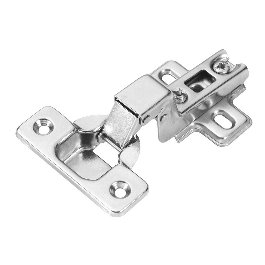 105° Inset Self-Closing Hinge Slide On Polished Nickel Hickory Hardware P5115-14