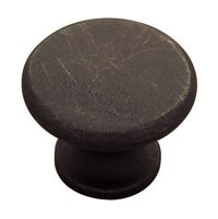 Liberty Hardware P84061-OB-C, Knob, 1-1/4 dia., Distressed Oil Rubbed Bronze
