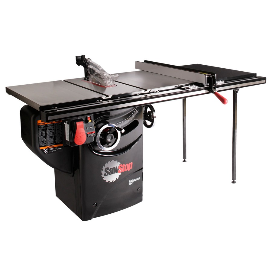 """Sawstop Professional Cabinet Saw, 3hp 1ph 230v with 36"""" Fence System PCS31230-TGP236"""