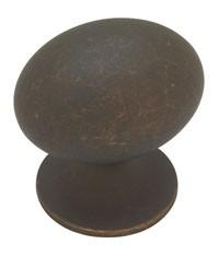 Liberty Hardware PN0393-OB-C, Knob, Length 1-5/16, Distressed Oil Rubbed Bronze, Fusilli II