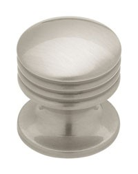 Liberty Hardware PN0925-BSN-A, Knob, Length 1in, Satin Nickel, Individuals