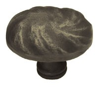 Liberty Hardware PN1330-OB-C, Knob, 1-5/8 dia., Distressed Oil Rubbed Bronze