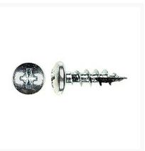 WE Preferred 1MPXP06058S2Z-16 Hinge, Slide & Hardware Screw, Pan Head Phillips, Type 17 Auger Pt, Coarse Thread, 5/8 x 6, Zinc, Bulk-1000