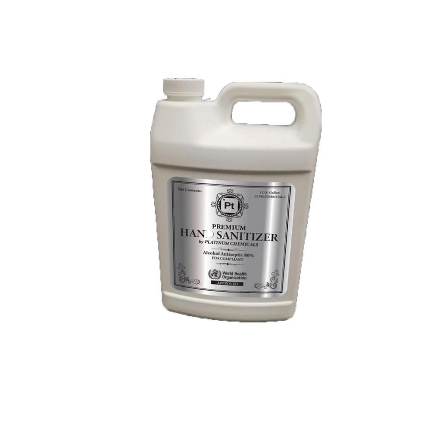 Liquid Hand Sanitizer One Gallon Bottle