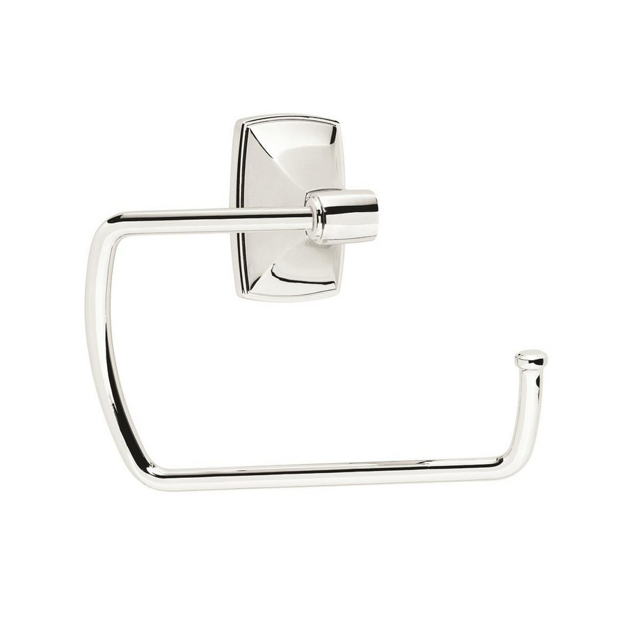 "Clarendon  Towel Ring 6-7/8"" Long Polished Chrome Amerock BH2650126"