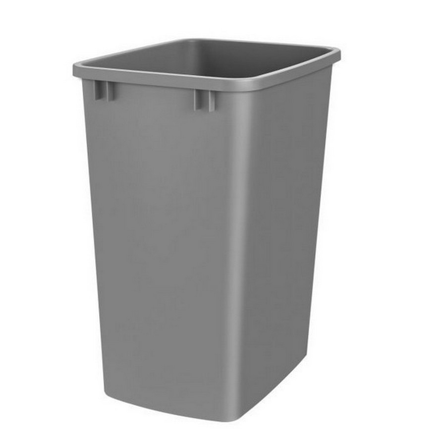 35 Quart Silver Replacement Waste Container Rev-A-Shelf RV-35-17-52