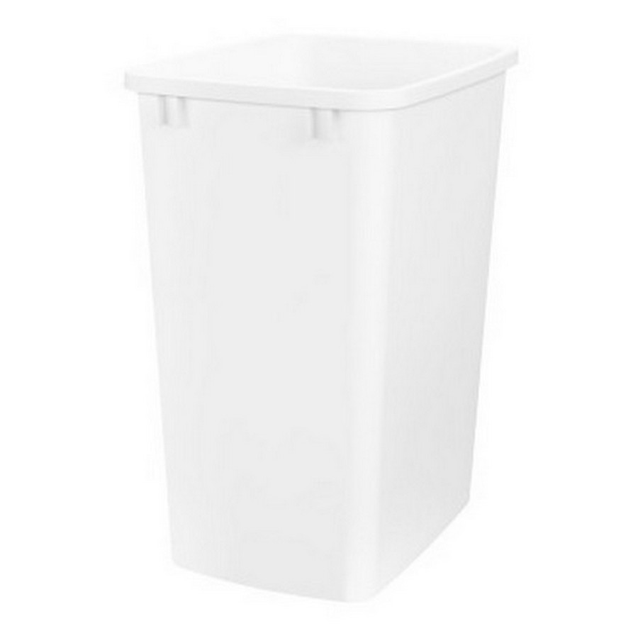 35 Quart White Replacement Waste Container Rev-A-Shelf RV-35-52