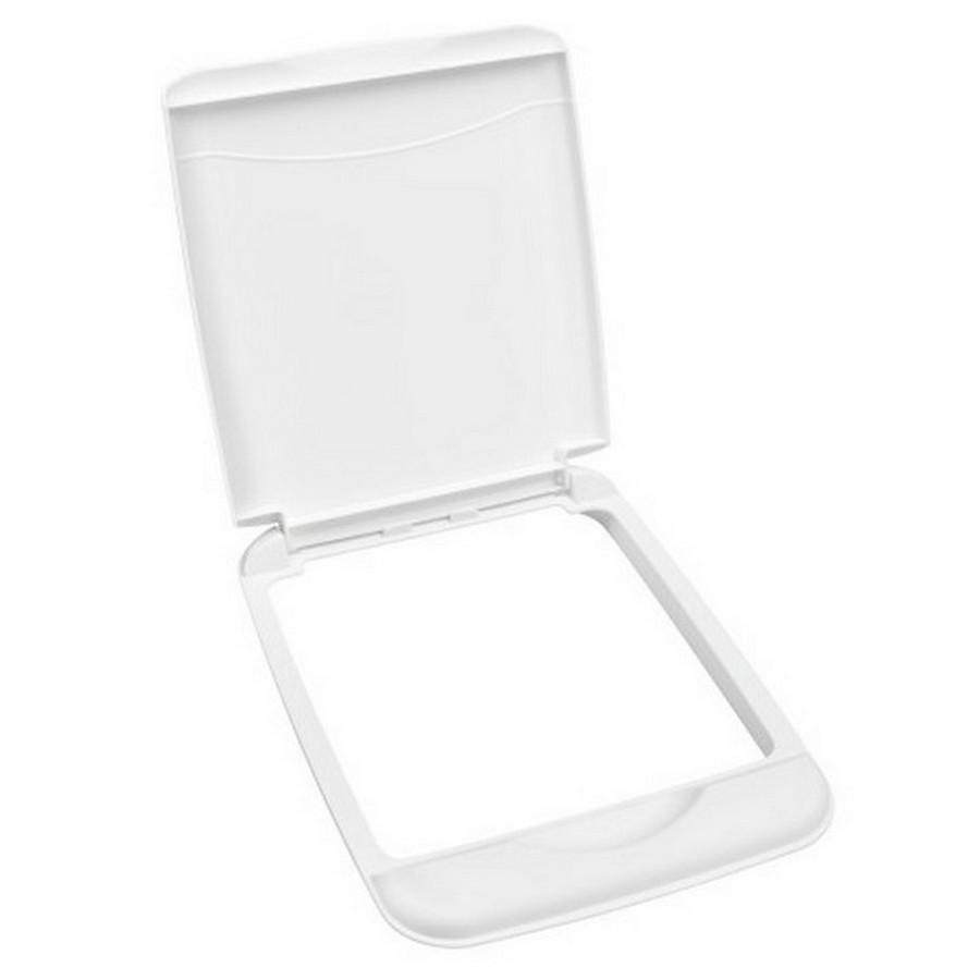 35 Quart White Lid Rev-A-Shelf RV-35-LID-1
