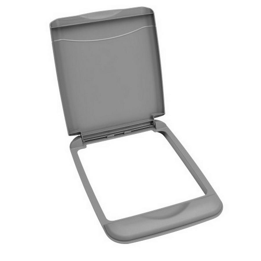 35 Quart Silver Lid Rev-A-Shelf RV-35-LID-17-1