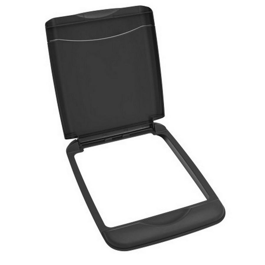35 Quart Black Lid Rev-A-Shelf RV-35-LID-18-1