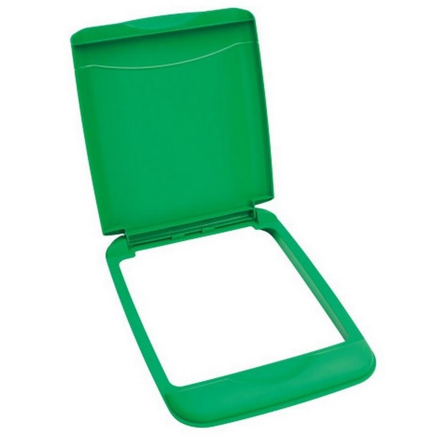 35 Quart Green Recycling Lid Rev-A-Shelf RV-35-LID-G-1