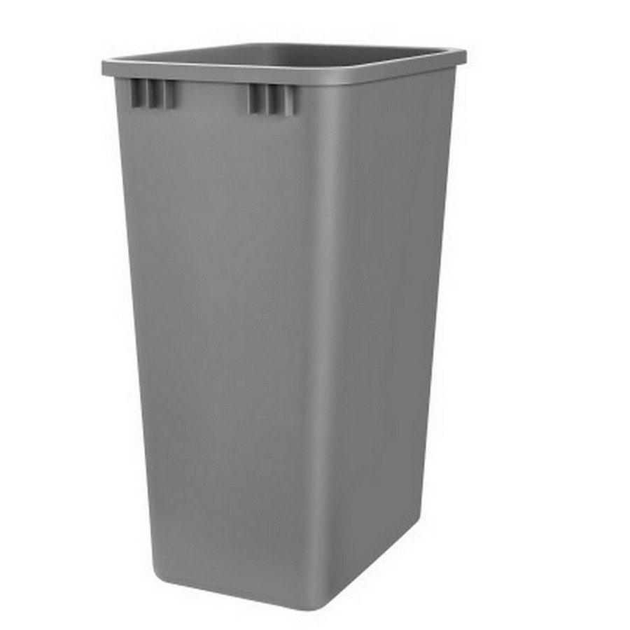 50 Quart Silver Replacement Waste Container Rev-A-Shelf RV-50-17-52