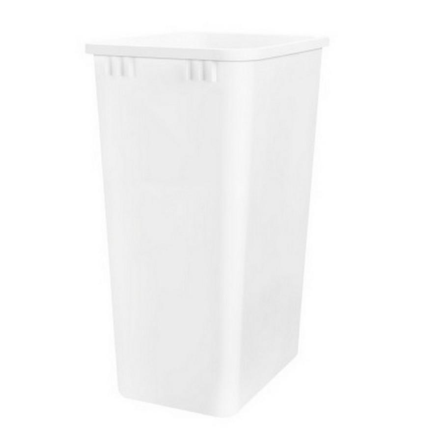 50 Quart White Replacement Waste Container Rev-A-Shelf RV-50-52