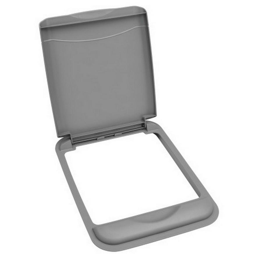50 Quart Silver Lid Rev-A-Shelf RV-50-LID-17-1