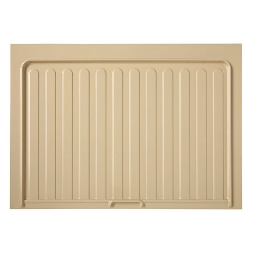 "Vanity Sink Base Drip Tray 34-1/2"" W Almond Rev-A-Shelf SBVDT-3336-A-1"