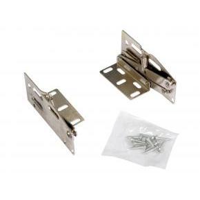 KV SH-10, 40-Degree Scissor Hinges, Nickel Plated for KV Series Sink Tip-Out Trays, Knape and Vogt
