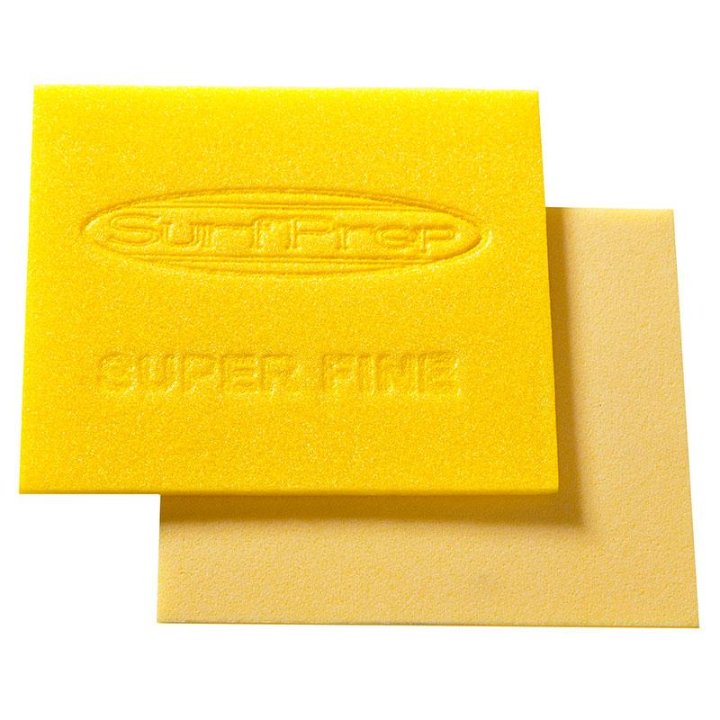 SurfPrep Bulk-20, Yellow Foam Hand Pad, Super Fine