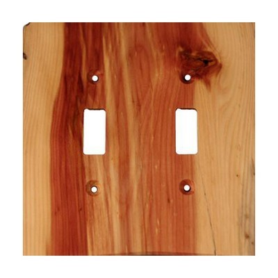 Sierra Lifestyles 682169, Switchplate, Traditional, 2 Toggle, Juniper Plate