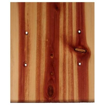 Sierra Lifestyles 682501, Outlet Plate, Standard, Traditional, 2 Blank, Juniper Plate