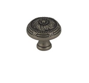 WE Preferred MPM2-WN, 1-1/4 Dia., Weathered Nickel Zinc Knob Elite II