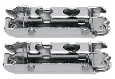 Blum 175H3100HKS-SET AVENTOS HK-S CLIP Wood/Wide Aluminum Mounting Plate Set