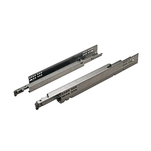"Salice A7555/229 CP6,  9"" Futura Undermount Soft-Close Drawer Slide, Full Extension, 229mm"