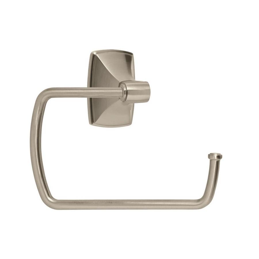 "Clarendon Towel Ring 6-7/8"" Long Satin Nickel Amerock BH26501G10"