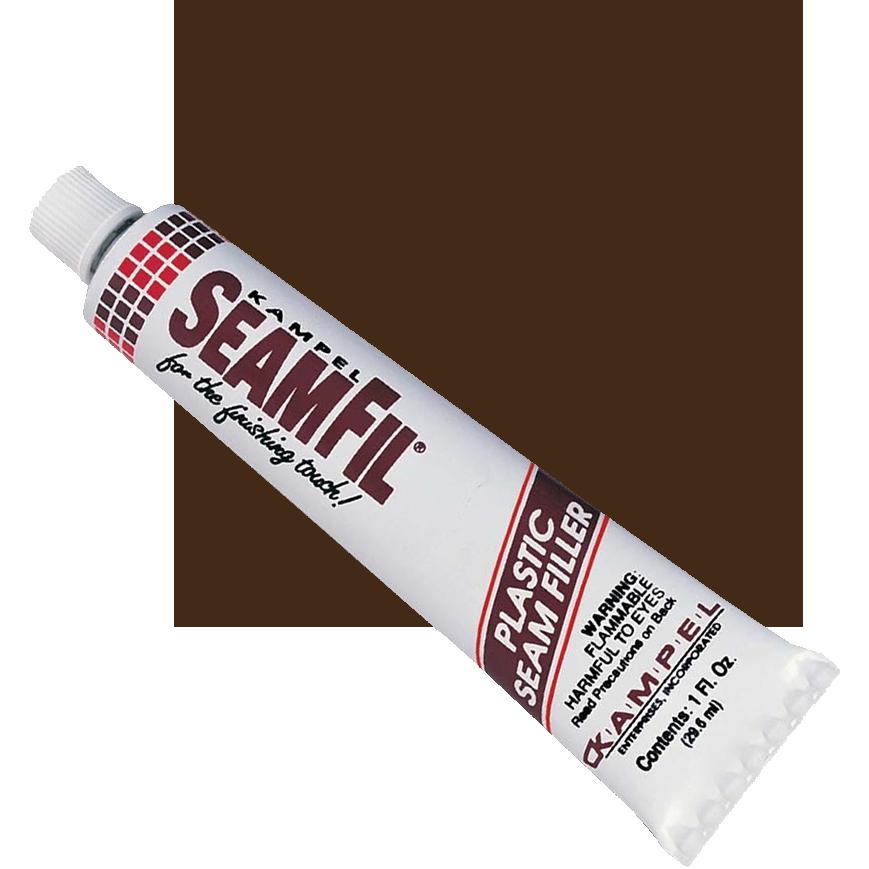 SeamFil Laminate Repairer Brown 1.0 oz Tube Kampel 913
