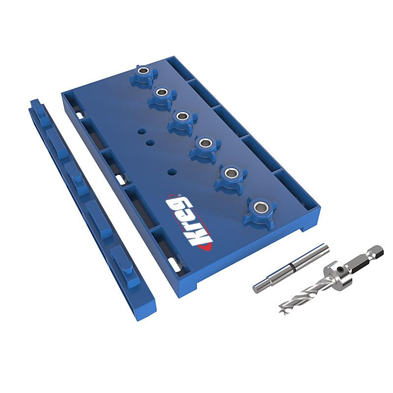 Kreg KMA3200 Shelf Pin Jig, 1/4""