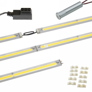 "LED Linear Lighting Kit for 24"" Cabinet - SimpLED 2.0,  8.5W, Warm Light, 3000K"