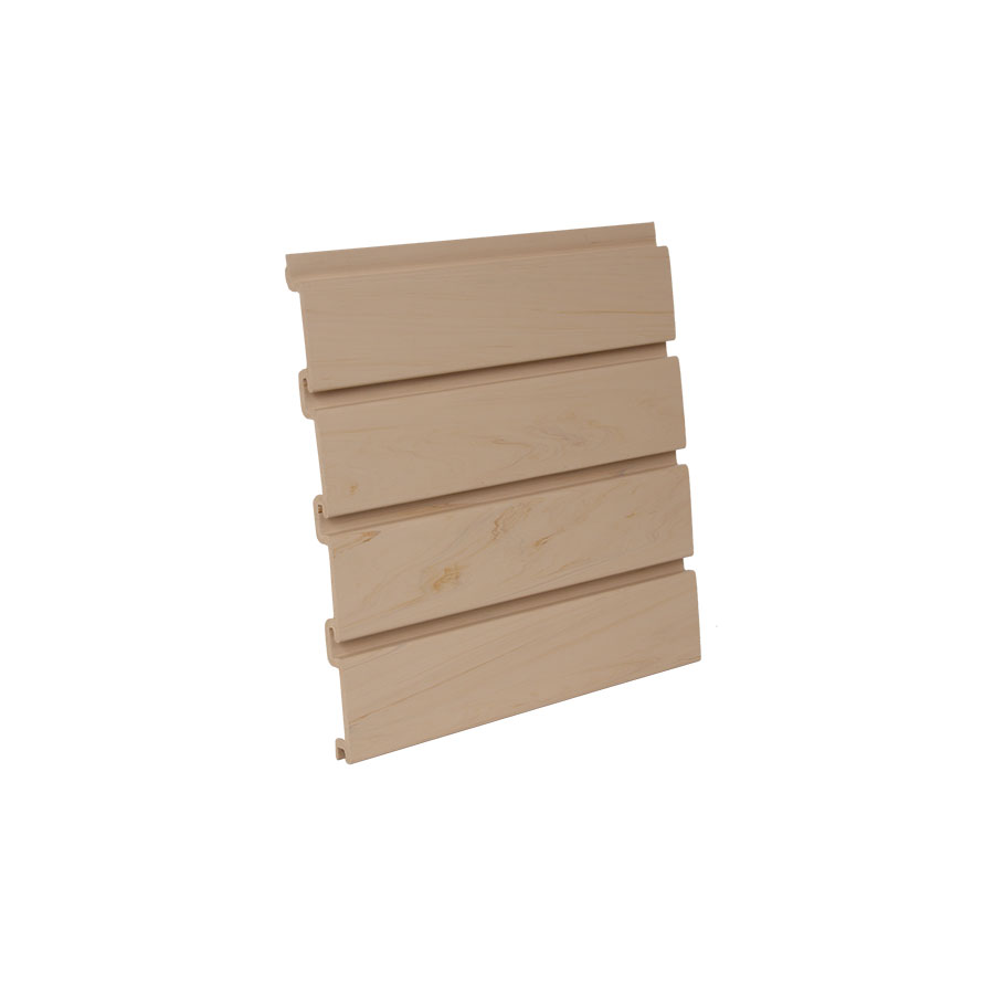 "HandiWALL Slatwall Panel 48"" x 12-1/4"" Maple  Bulk-8 Pieces HandiSOLUTIONS HSW5004"