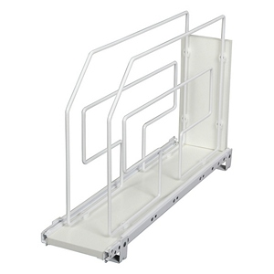 "6"" Tray Divider Roll-Out White Knape and Vogt TDRO6-W"