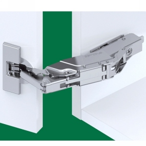 Grass F028138384217 160 Degree Tiomos Soft-close Hinge, Half Overlay, Dowel, 42mm Boring Pattern