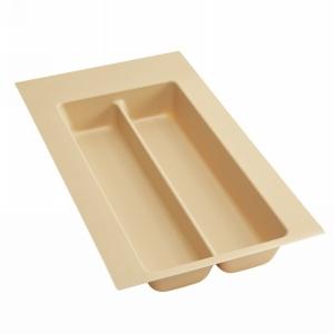 """11-1/2"""" Utensil Drawer Insert, Plastic, Almond, Rev-a-shelf  UT-10A-10"""