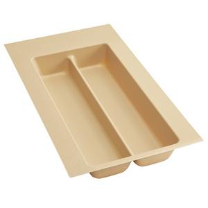 """Plastic Utensil Drawer Insert 11-1/2"""" W Almond  Rev-A-Shelf  UT-10A-52"""