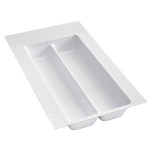 """Plastic Utensil Drawer Insert 11-1/2"""" W  White  Rev-A-Shelf  UT-10W-52"""