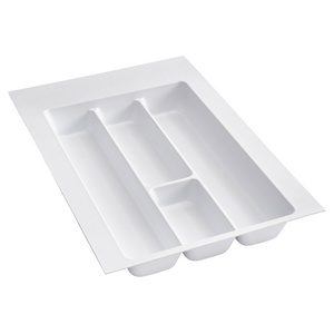 "14-1/4"" Utensil Drawer Insert, Plastic, White, Rev-a-shelf  UT-12W-20"