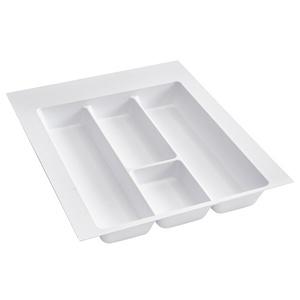 Rev-A-Shelf UT-15W-20, 17-1/2 Polymer Utility Tray Drawer Insert, White, Min Trim Size 14-3/4 W x 17-3/4 D
