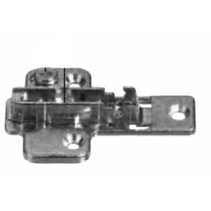 Grass 314.493.70.0015 0mm Nexis Wing Plate, Cam Adjustable, Screw-on